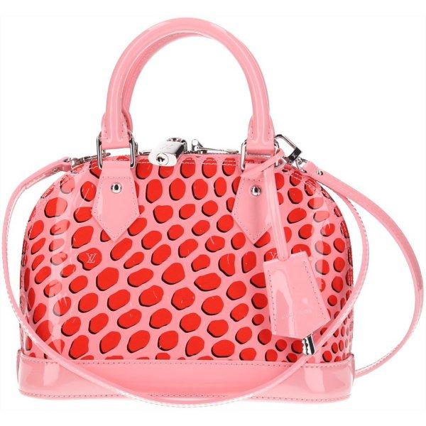 36900 Louis Vuitton Alma BB Monogram Vernis Leder Tasche, Handtasche mit Schulterriemen
