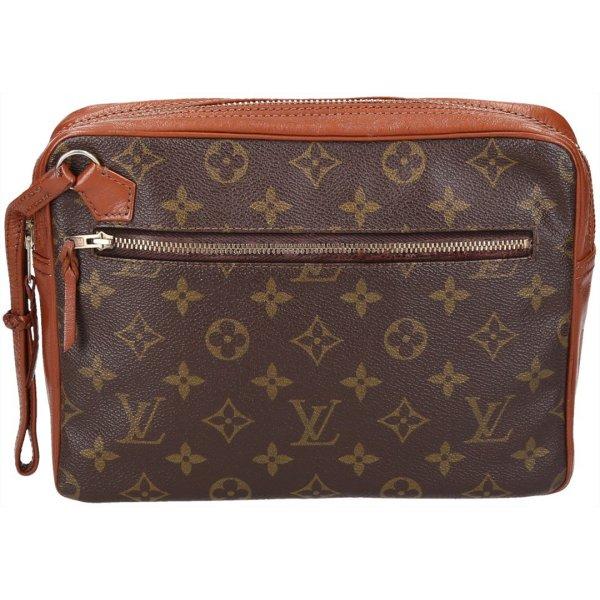 37093 Louis Vuitton Pochette Sport Monogram Canvas Clutch Tasche