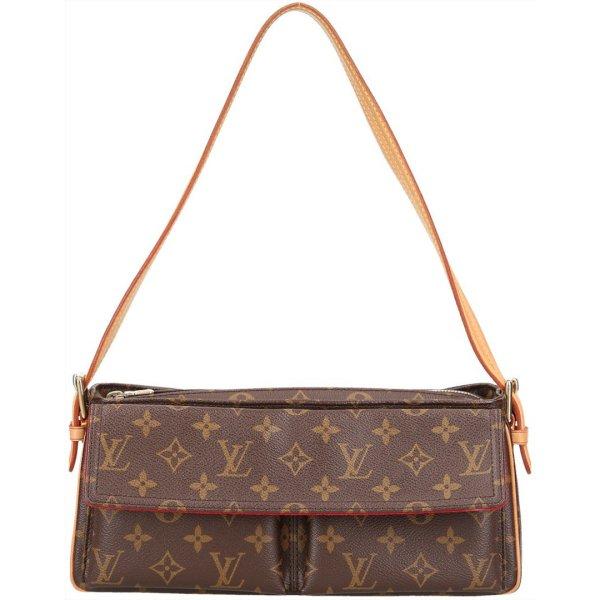 38074 Louis Vuitton Viva Cité MM Monogram Canvas Tasche, Handtasche, Schultertasche