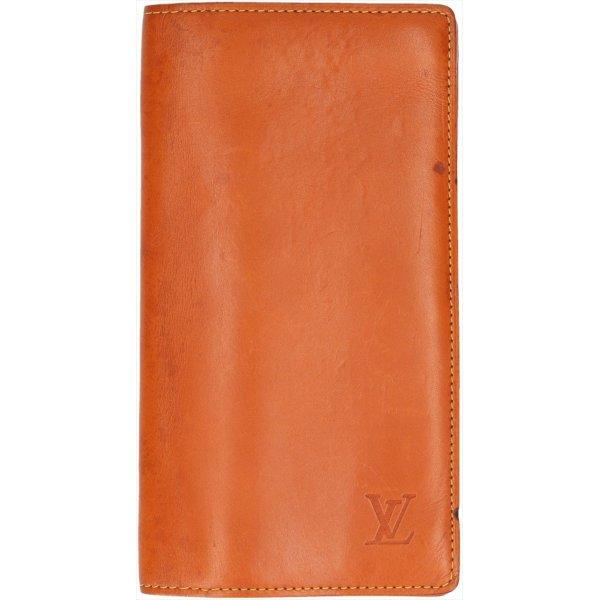 38218 Louis Vuitton Geldbörse Porte-Cartes Crédit aus Nomade Leder in Caramel