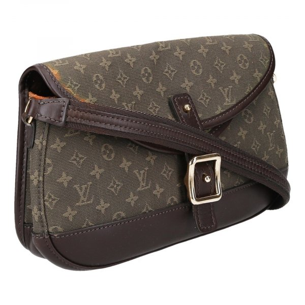 38725 Louis Vuitton Marjorie Handtasche aus Monogram Mini Lin Canvas in Kaki