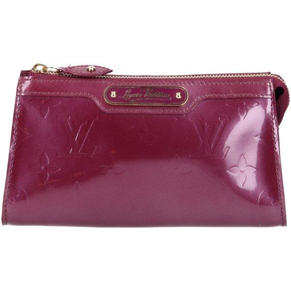 38941 Louis Vuitton Trousse Cosmétique Clutch aus Monogram Vernis Leder in Violette