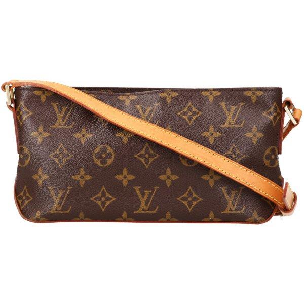 39151 Louis Vuitton Trotteur Monogram Canvas Handtasche, Umhängetasche