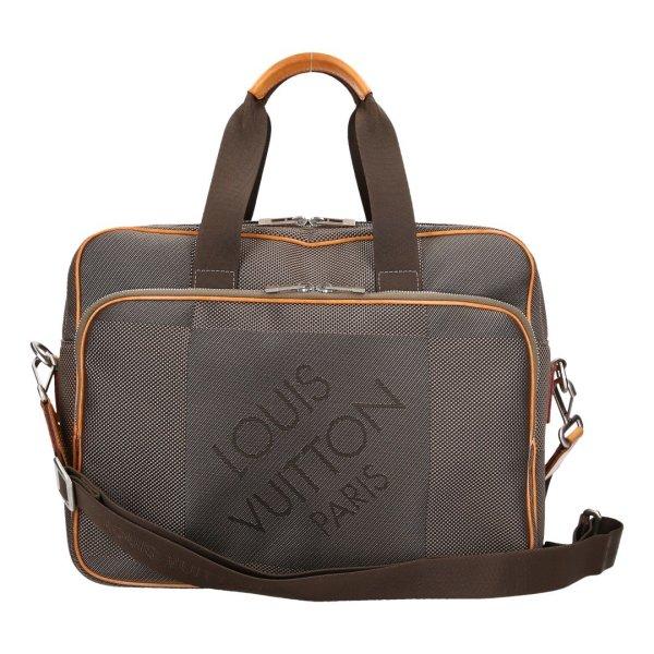 39160 Louis Vuitton Associe GM Handtasche, Umhängetasche aus Damier Grant Canvas in Terre