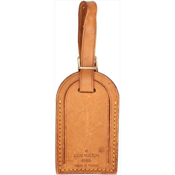 39389 Louis Vuitton Adressanhänger VVN Leder