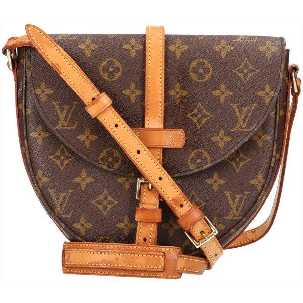 39725 Louis Vuitton Chantilly MM Monogram Canvas Handtasche, Umhängetasche