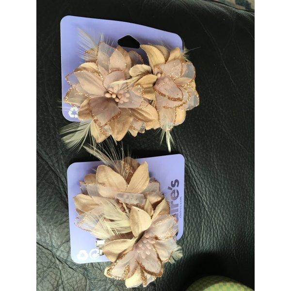 4 Blumenhaarklammer