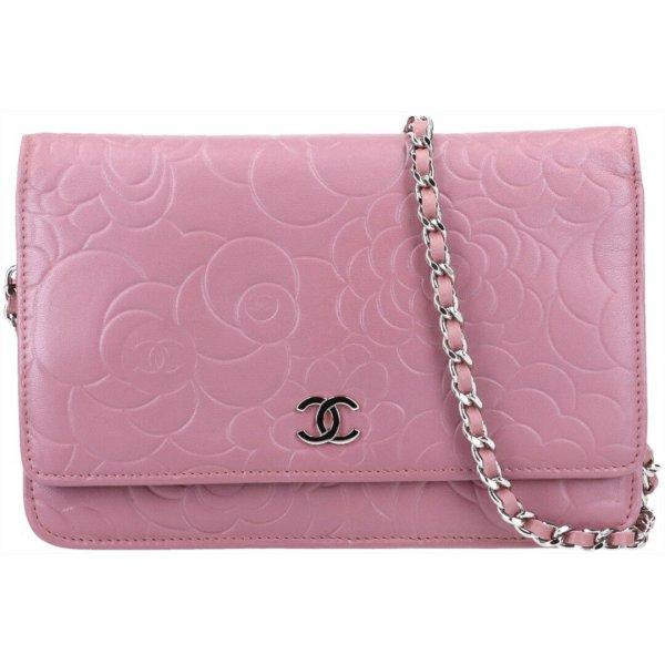 42174 Chanel CC Wallet on Chain Umhängetasche Tasche aus Leder mit ID-Karte