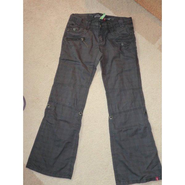 Esprit Pantalone cinque tasche grigio Cotone