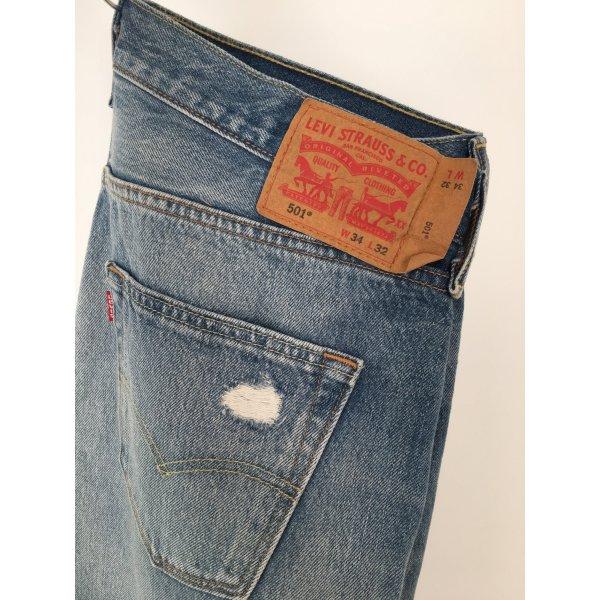 501 Levi's Jeans Original Washedoptik W34/L32