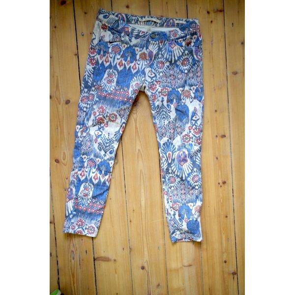 7/8 Bohemian Style Slim Fit Jeans von Zara Woman super fit