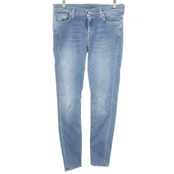 7 For All Mankind Vaquero hipster azul aciano estilo relajado