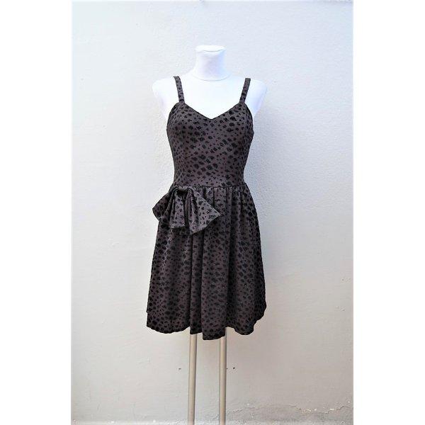 80er Vintage Corsagen Kleid