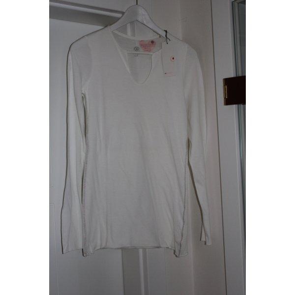 81hours Top bianco Cotone