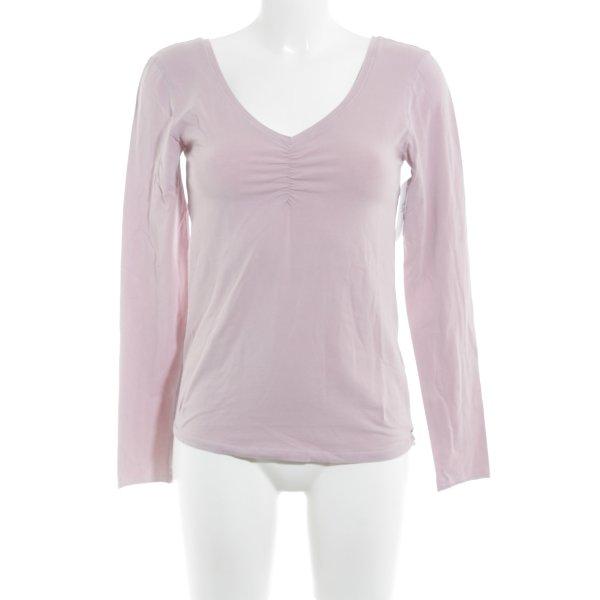 81hours Manica lunga rosa antico stile casual