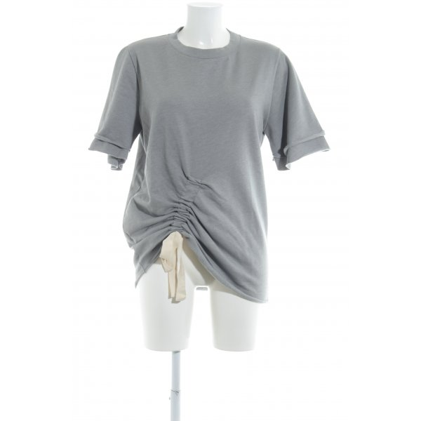 81hours Crewneck Sweater grey-cream casual look