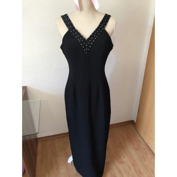 Abendkleid Kleid Schwarz maxi 38