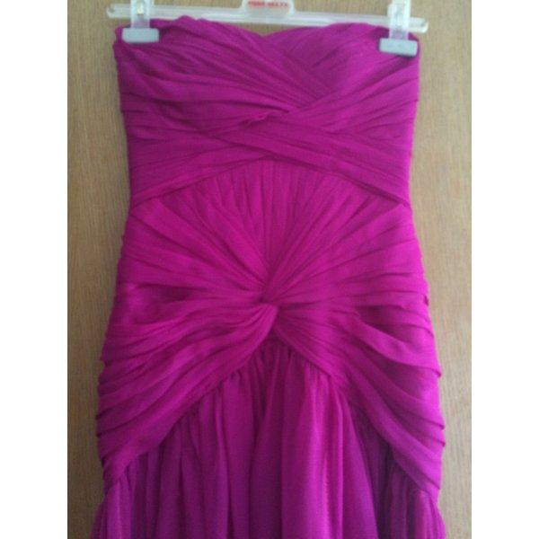 Abendkleid mit schleppe Fuchsia/Pink S