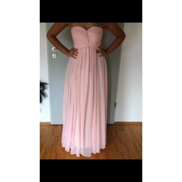 Abendkleid rosa Chiffon