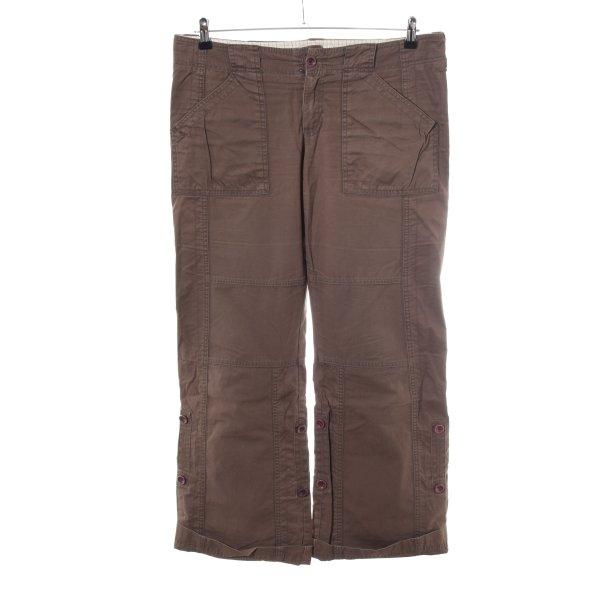 Abercrombie & Fitch Cargohose braun Casual-Look