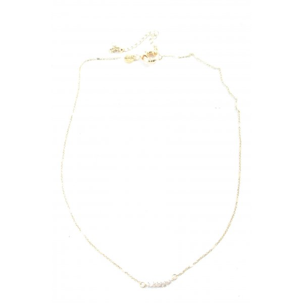 Abercrombie & Fitch Collier goldfarben Casual-Look