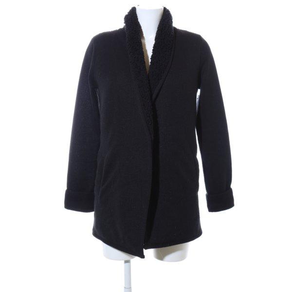 Abercrombie & Fitch Long-Blazer schwarz Casual-Look