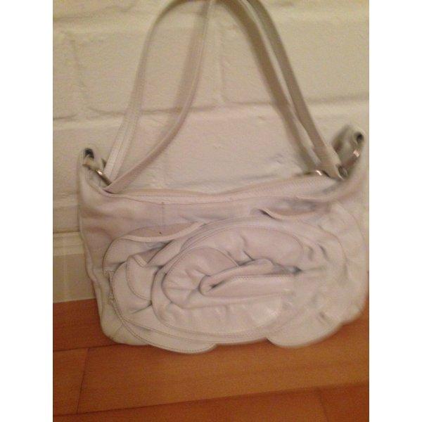 Abro Sommertasche mit Lederornament