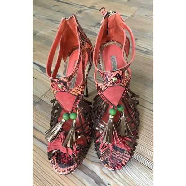 Buffalo High Heel Sandal multicolored