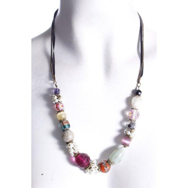 Accessorize Halskette bunt mit Steinen