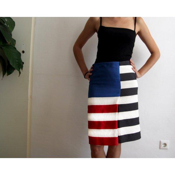 ACNE Flag Skirt Stripes