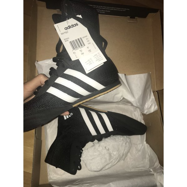 Adidas Basket montante noir-blanc