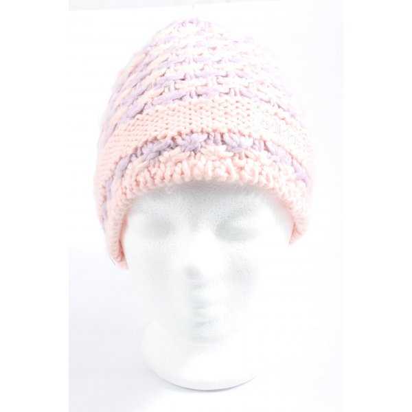 Adidas Häkelmütze pink-lila Casual-Look