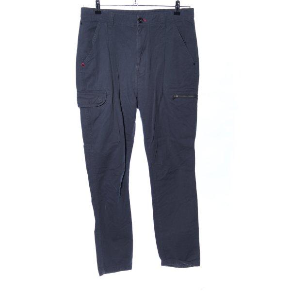 Adidas NEO Chinohose blau Casual-Look