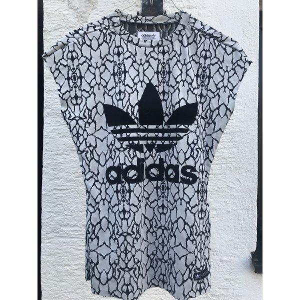 Adidas Originals T-shirt bianco-nero Poliestere