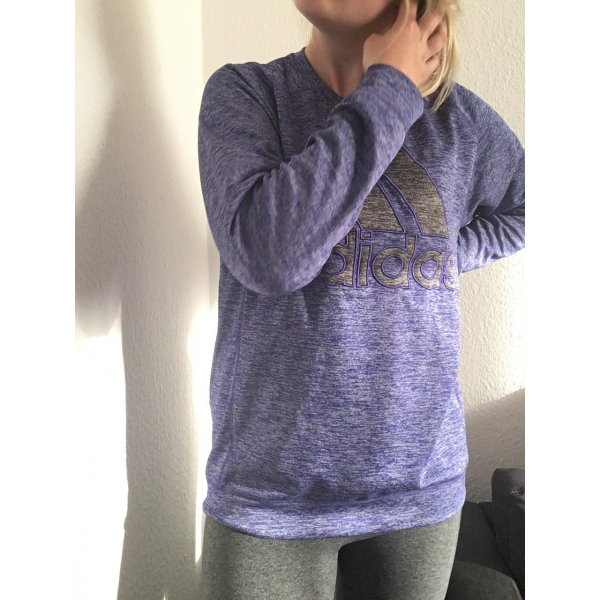 Adidas Pullover lila gr.  L 42 oversized Blogger neuwertig