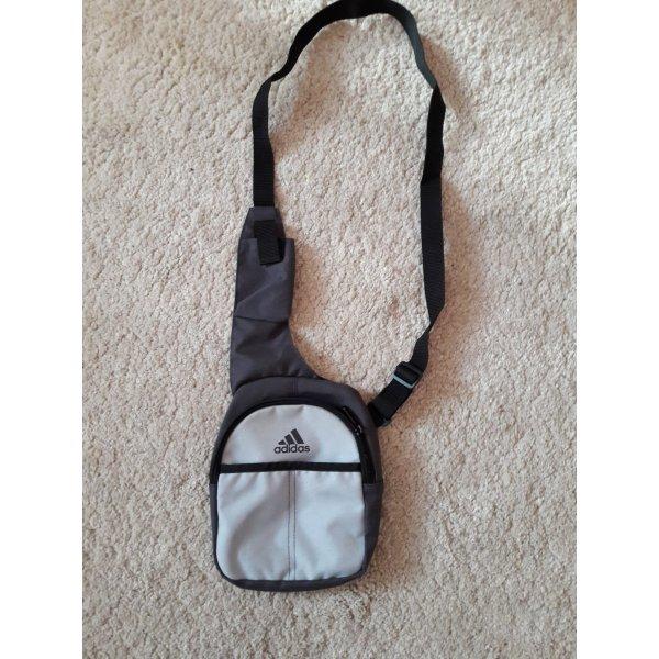 Adidas Carry Bag silver-colored textile fiber