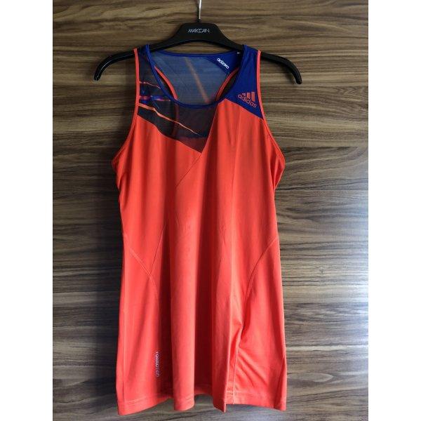 Adidas Top deportivo sin mangas rojo-azul