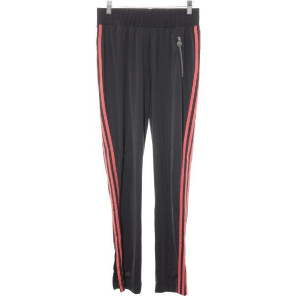Adidas Sporthose schwarz-neonrot sportlicher Stil