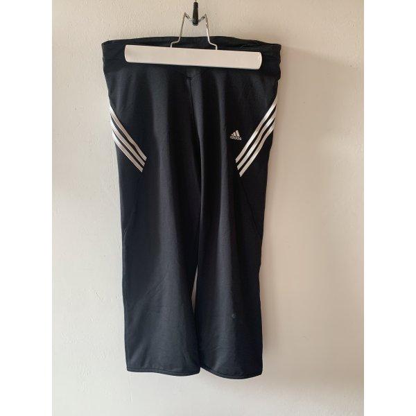 Adidas Sporthose schwarz weiß