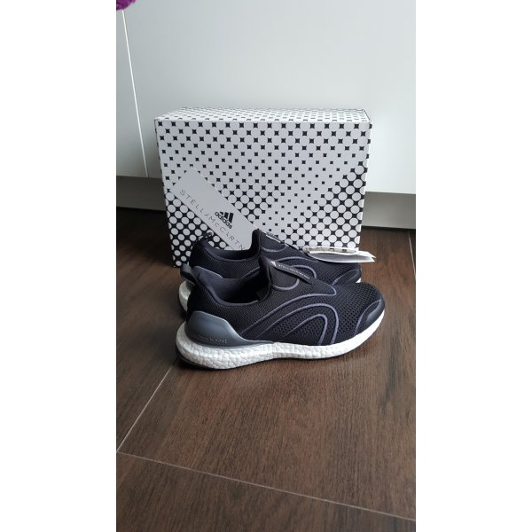 Adidas Stella McCartney 38 2/3 Ultra Boost uncaged schwarz weiß