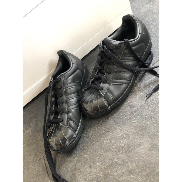 Adidas Superstar schwarz