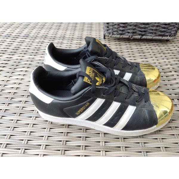 Adidas Superstar Sneaker schwarz gold Gr.40