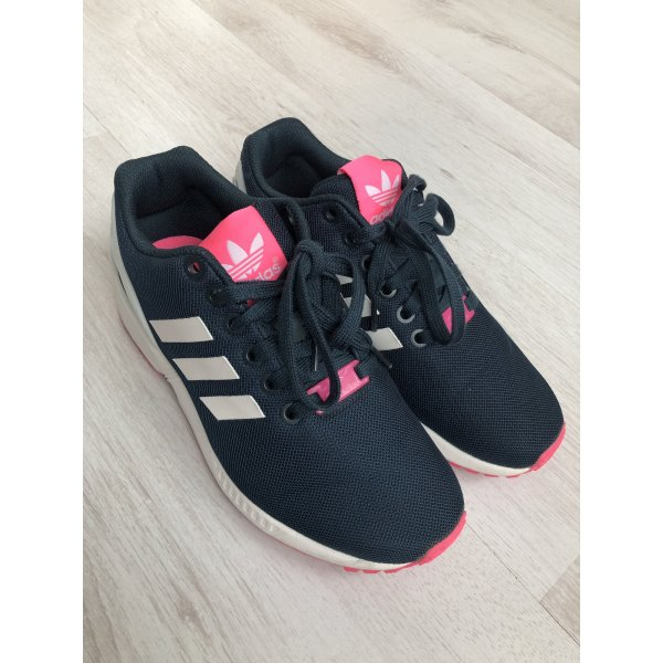 Adidas ZX Flux in Petrol/Pink