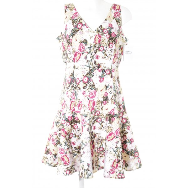 Adolfo Dominguez Evening Dress floral pattern classic style