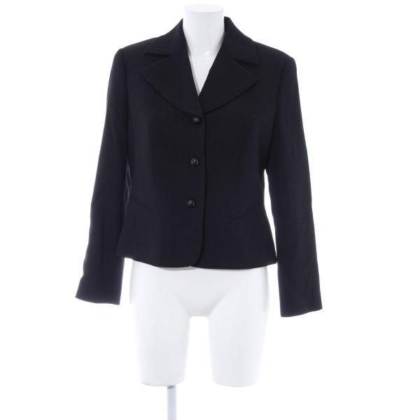 ae elegance Kurz-Blazer schwarz Business-Look