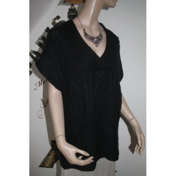 ärmelloser Pullover * Pullunder * tolles Muster * Größe L * kaum getragen *