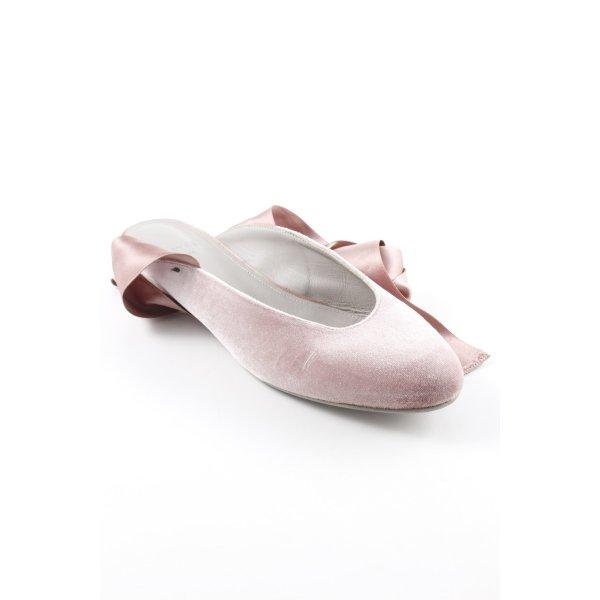 aeyde Slingback Ballerinas altrosa Elegant