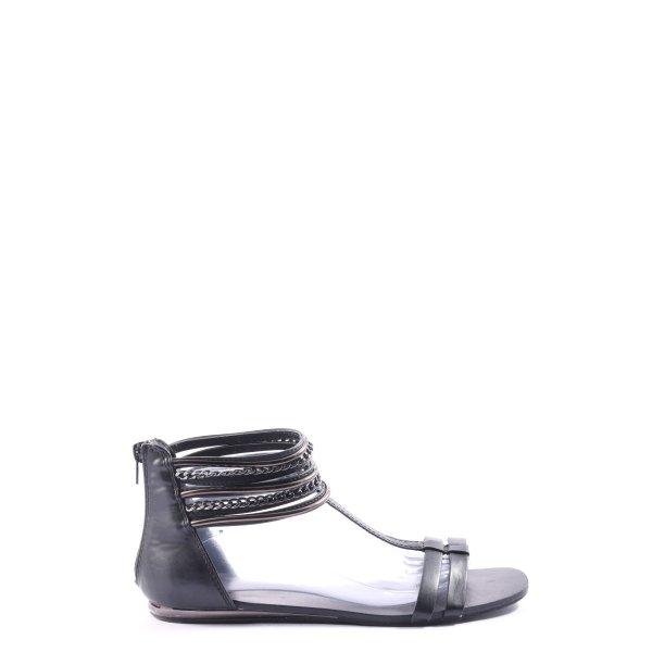 AF Riemchen-Sandalen schwarz Casual-Look