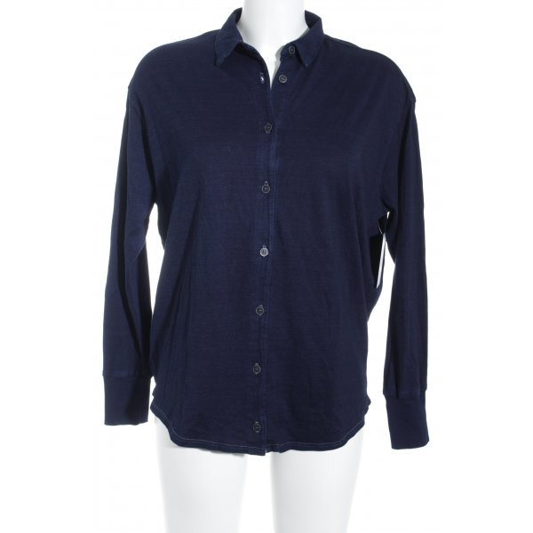 AG Jeans Camicetta a maniche lunghe blu scuro stile casual