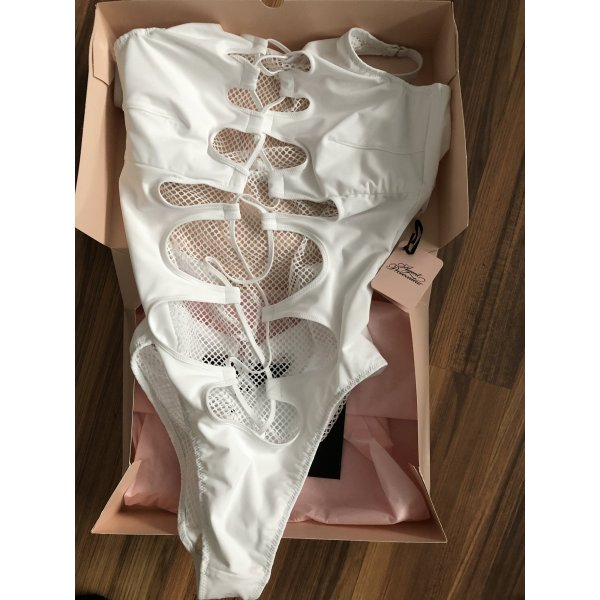 Agent Provocateur Hatty Swimsuit white